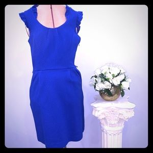 ELLE blue dress